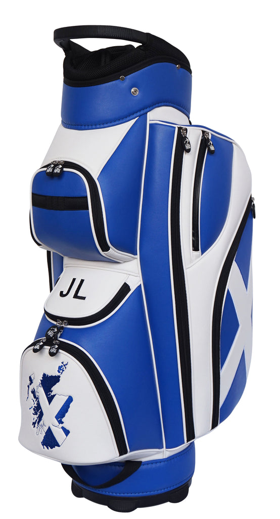 Scottish Flag Fairway Custom Cart Golf Bag