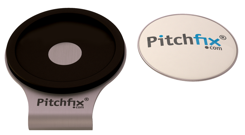 Pitchfix Hat Clip with Custom Ball Marker