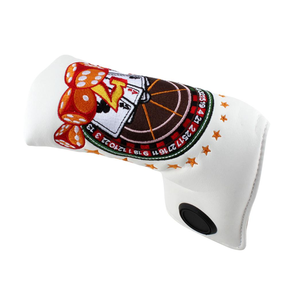 Casino Premium Blade Putter Cover - with FREE Ball Marker - theback9