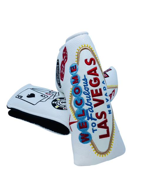 "Collectors Edition ""Las Vegas"" Blade Style Putter Cover - theback9"
