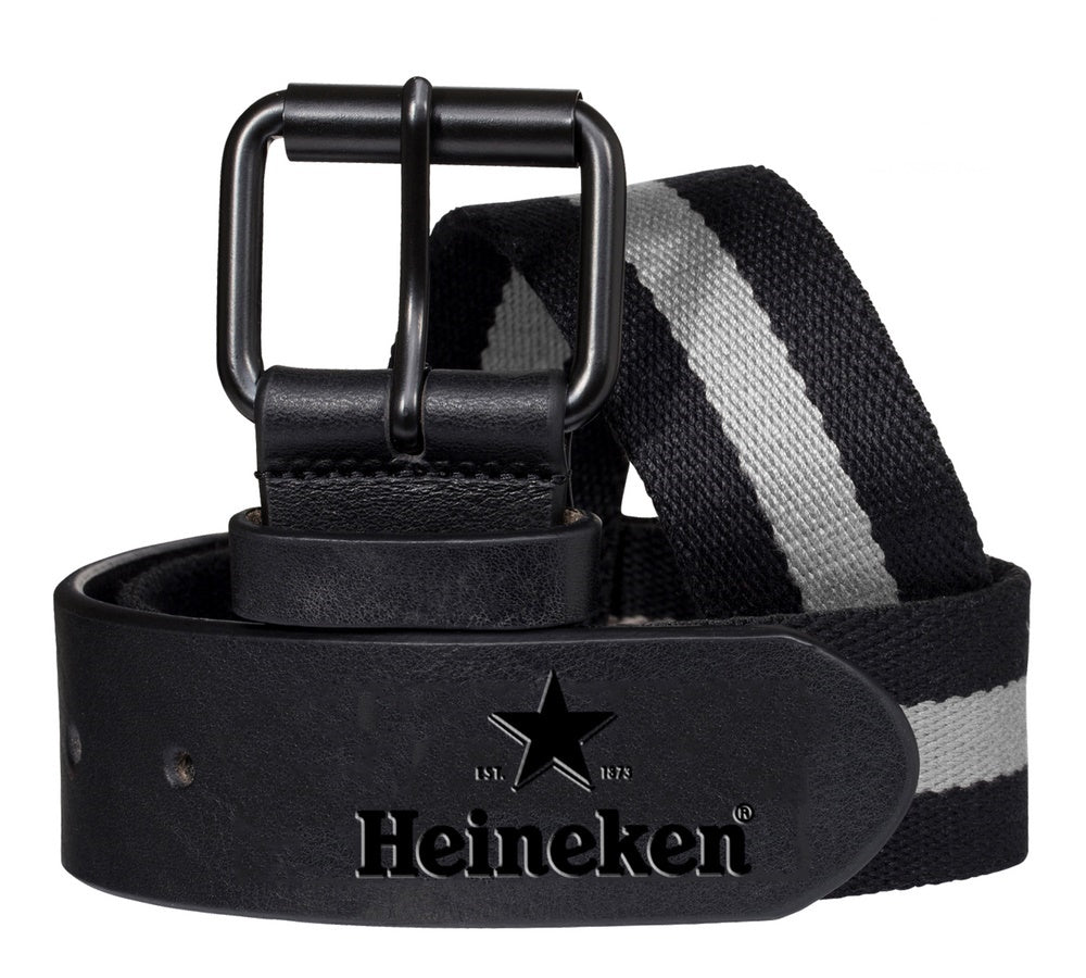 Marki Custom Logo Leather Belt - Stock