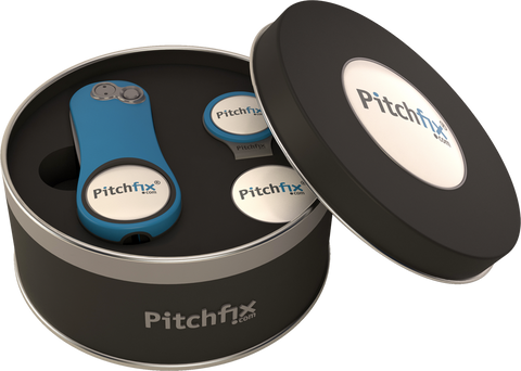 Pitchfix Hybrid 2.0 with Hat Clip Gift Tin - theback9