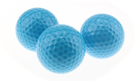 Coloured Golf Balls - 2 Piece Distance