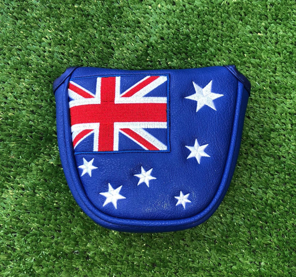 Custom Headcovers Putter Covers Australian Flag Theback9