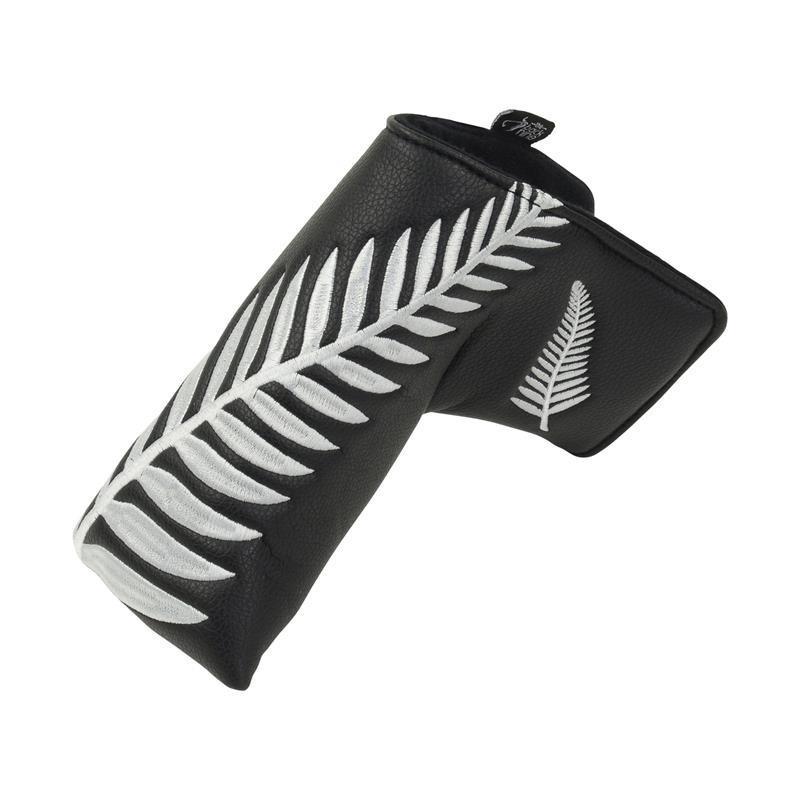 """Kiwi Black"" Premium Blade Putter Cover"