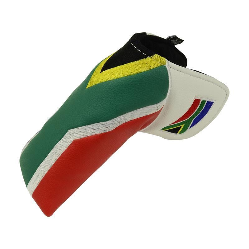 """South African Flag"" Premium Blade Putter Cover"