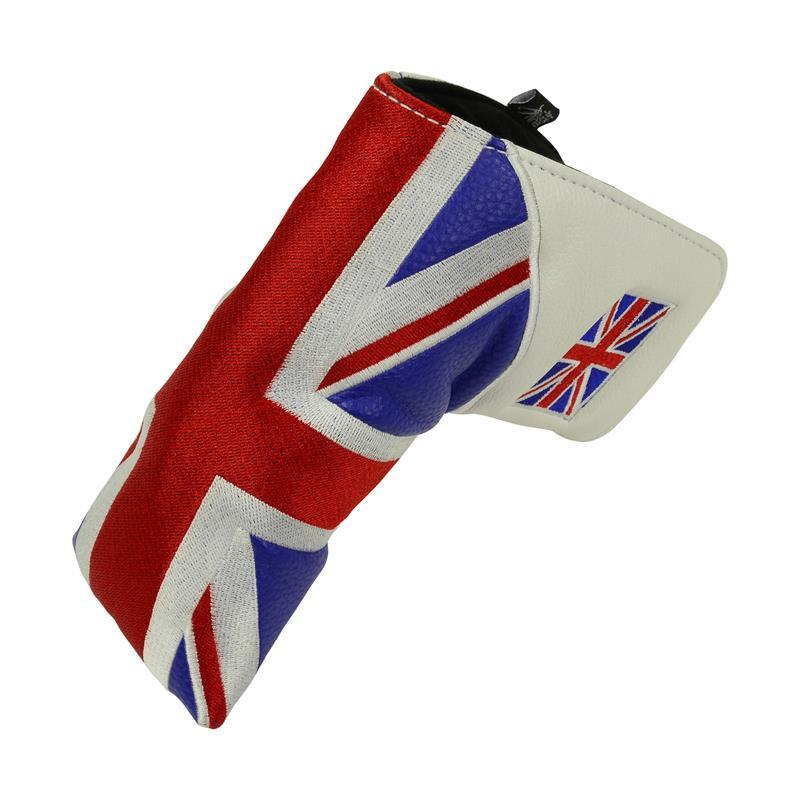 "Heritage "" Union Jack"" British Flag"" Blade Putter Cover"