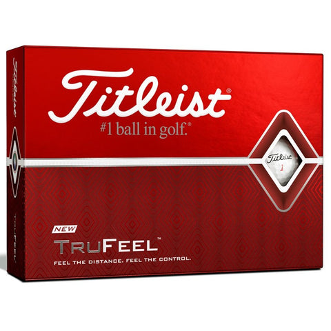 Titleist TruFeel Golf Ball - White - theback9
