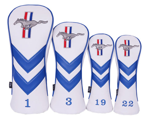 Custom 3 Piece Head Cover Set - Medal