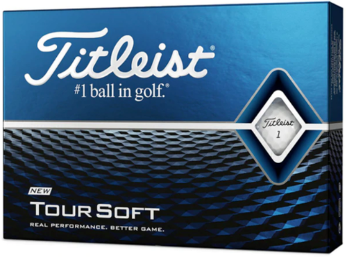 Titleist Tour Soft Golf Ball -  White