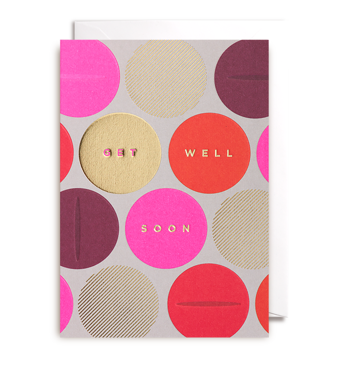 Kelly Hyatt (Postco) - Get Well Soon Card