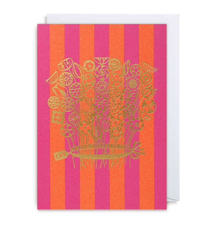 Alexander Girard - Bouquet Card