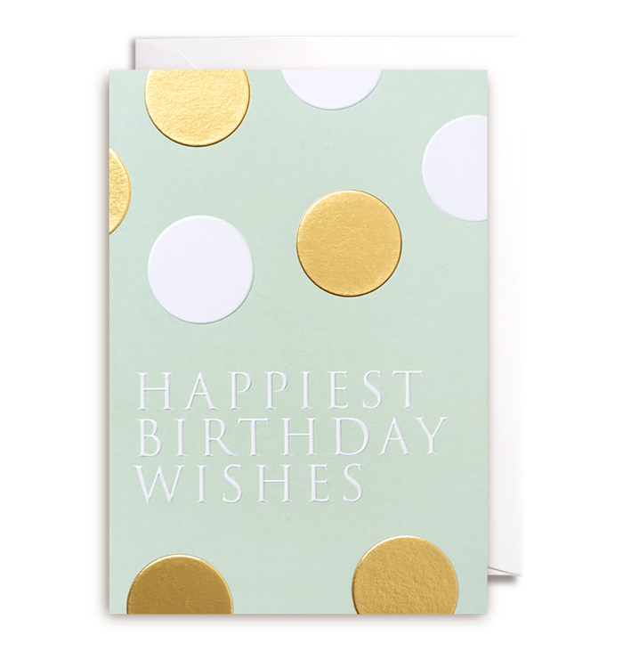 Kelly Hyatt (Postco) - Happiest Birthday Wishes Card