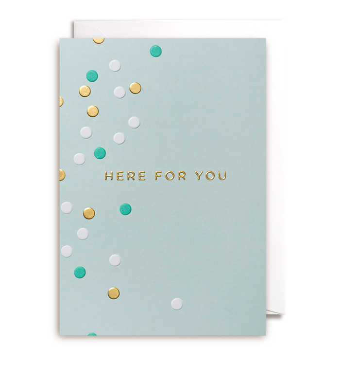 Kelly Hyatt (Postco) - Here For You Card