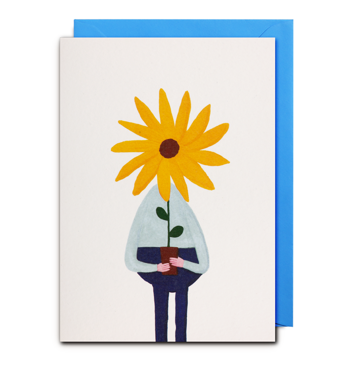 Daniel Frost - Sunflower Card