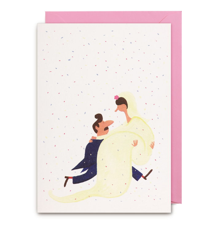 Daniel Frost - Happy Couple Card