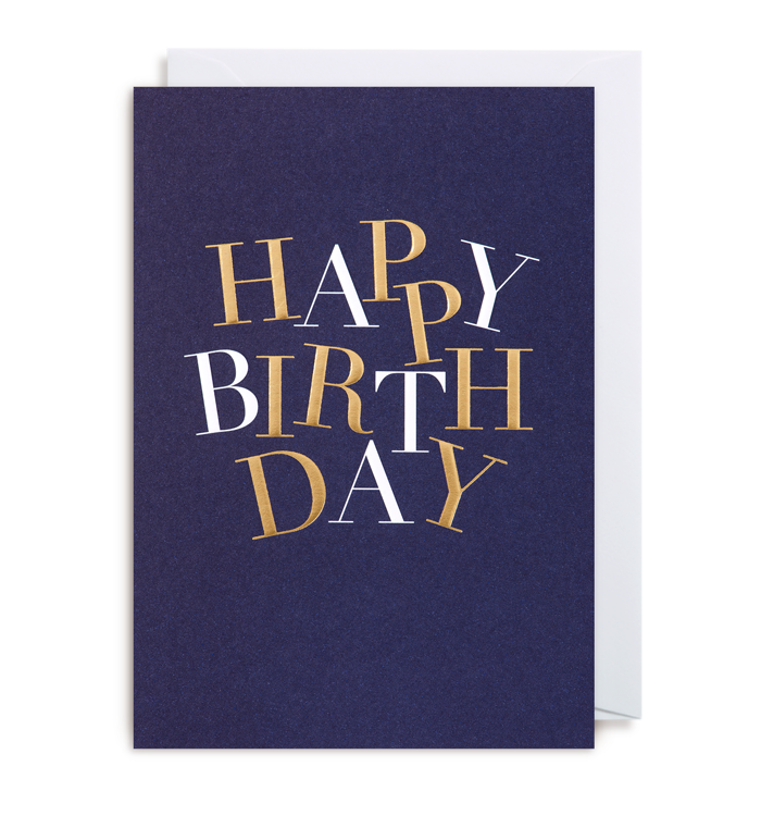Kelly Hyatt (Postco) - Happy Birthday Card