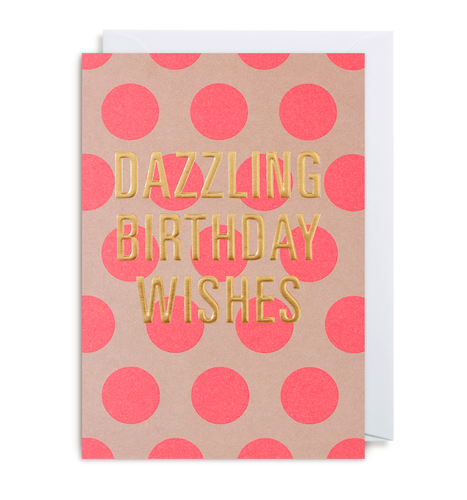 Kelly Hyatt (Postco) - Dazzling Birthday Wishes Card