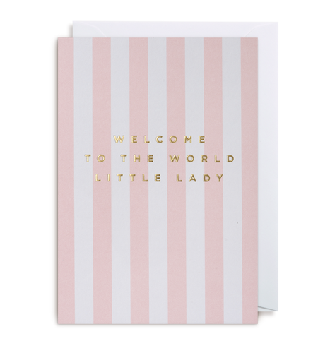 Kelly Hyatt (Postco) - Welcome To The World Little Lady Card