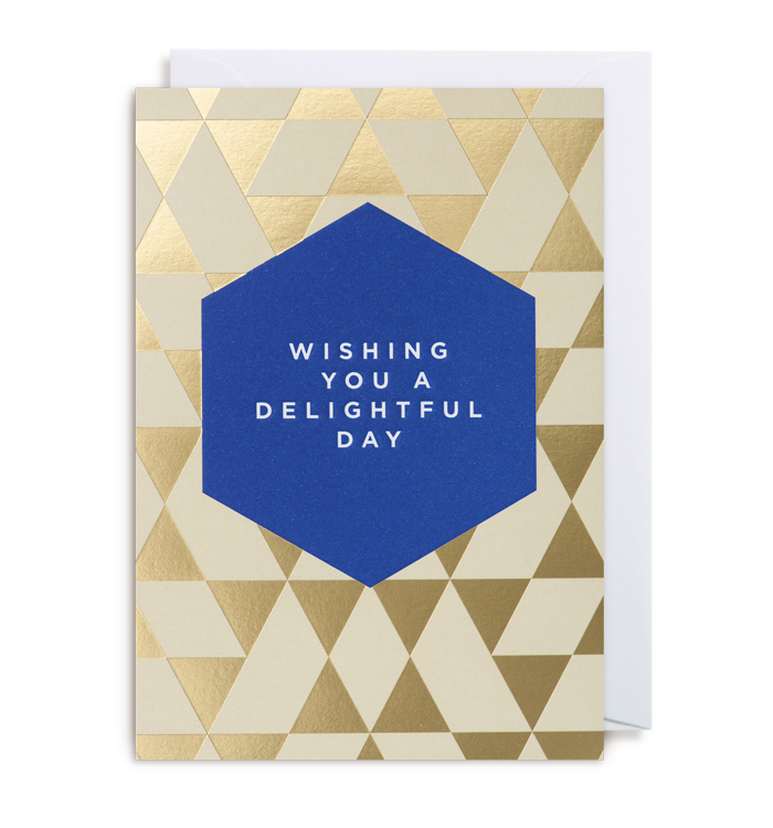 Kelly Hyatt (Postco) - Wishing You A Delightful Day Card