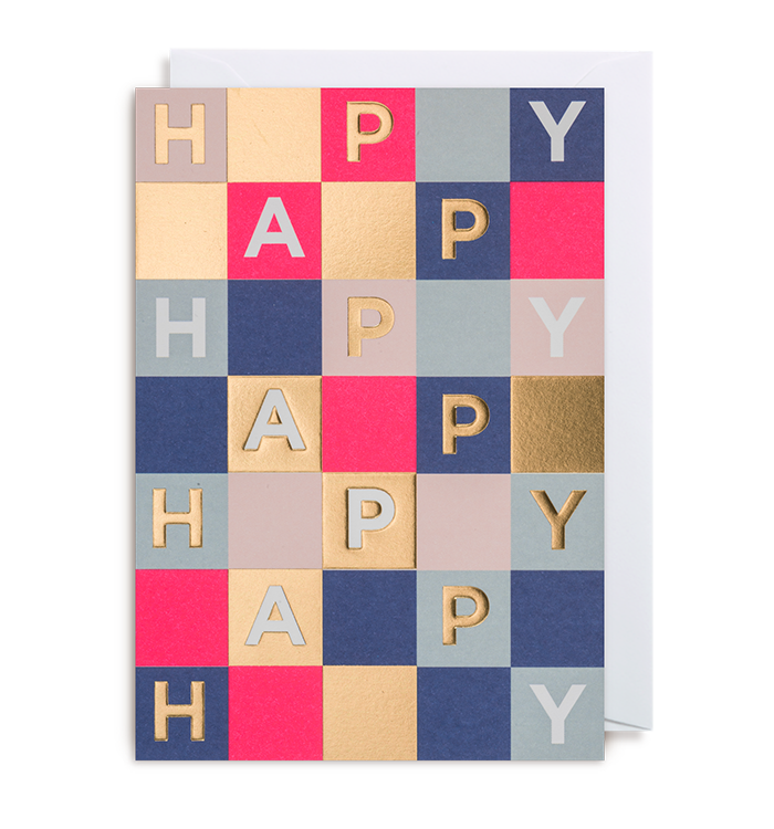 Kelly Hyatt (Postco) - Happy Card