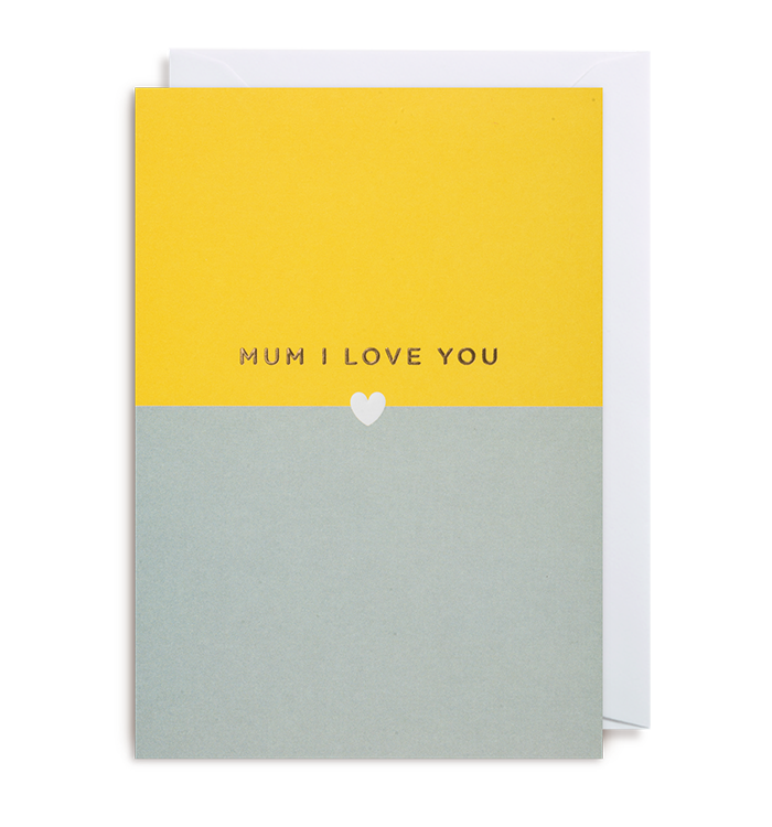 Kelly Hyatt (Postco) - Mum I Love You Card