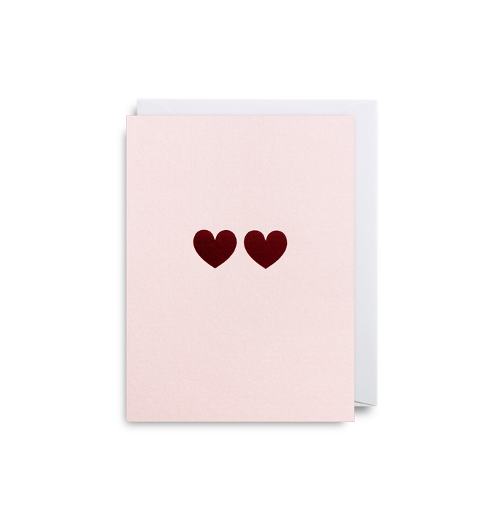 Kelly Hyatt (Cherished) - Love Hearts Mini Card