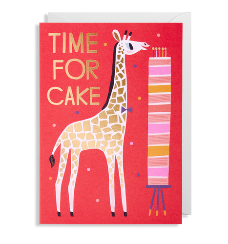 Allison Black - Time For Cake Card