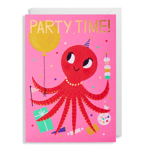 Allison Black - Party Time! Octopus Card
