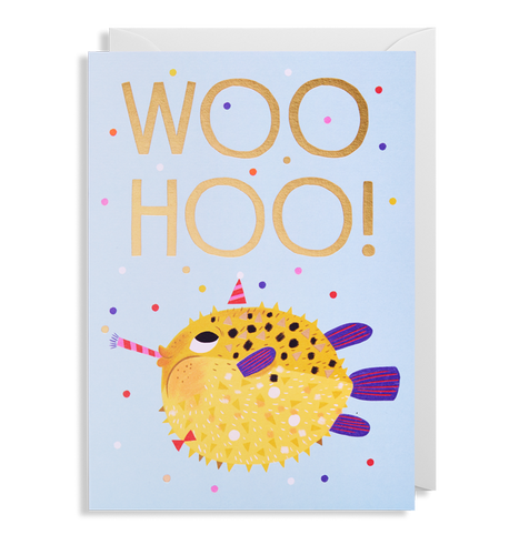 Allison Black - Woohoo Puffer Card
