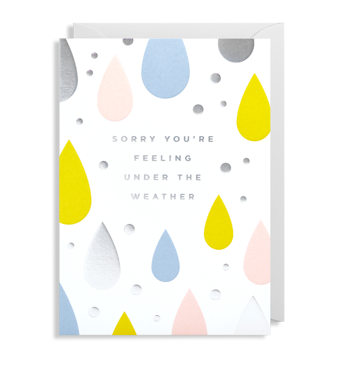 Kelly Hyatt (Postco) - Sorry You're Feeling Under The Weather Card
