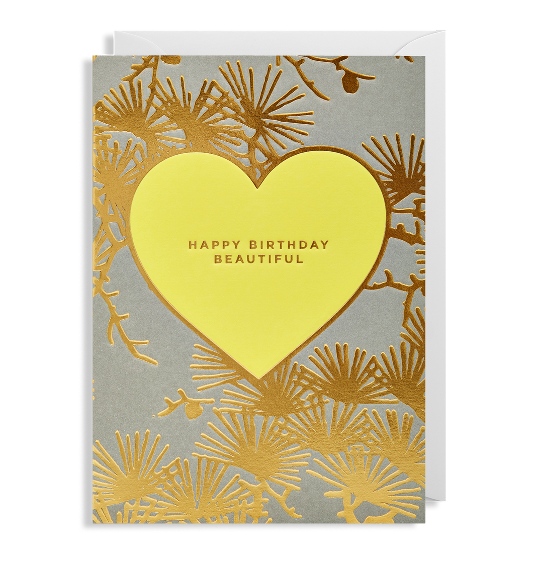 Kelly Hyatt (Bisou) - Happy Birthday Beautiful Card