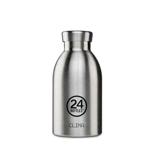 24 Bottles - CLIMA Insulated Bottle - 330ml - Steel