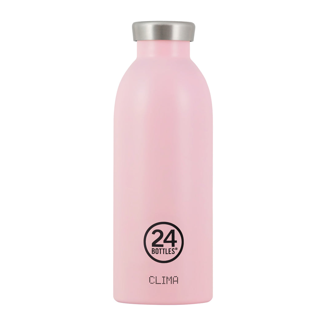 24 Bottles - CLIMA Insulated Bottle - 500ml - Candy Pink