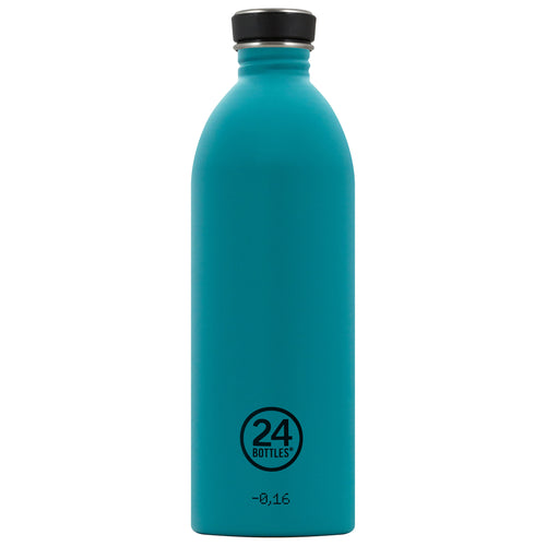 24bottles Super-lightweight Urban Water Bottle - 1L - Atlantic Bay Green