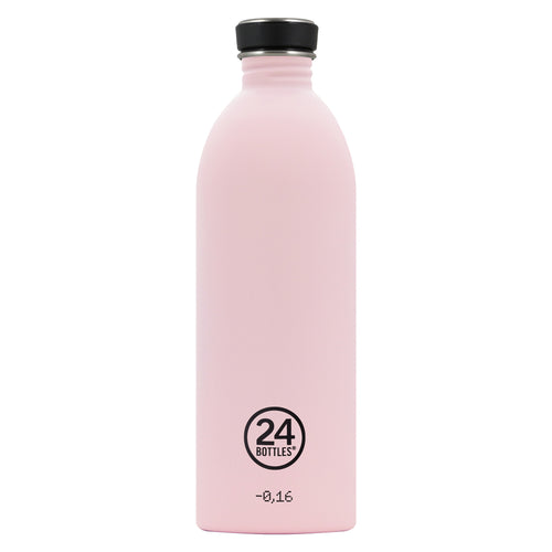 24bottles Super-lightweight Urban Water Bottle - 1L - Candy Pink