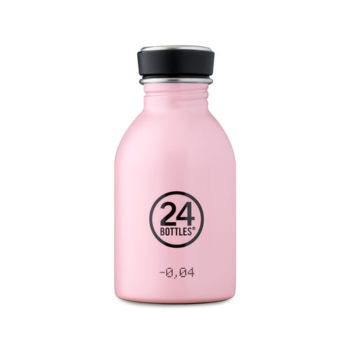 24 Bottles - Super-lightweight Urban Water Bottle - 250ml - Candy Pink
