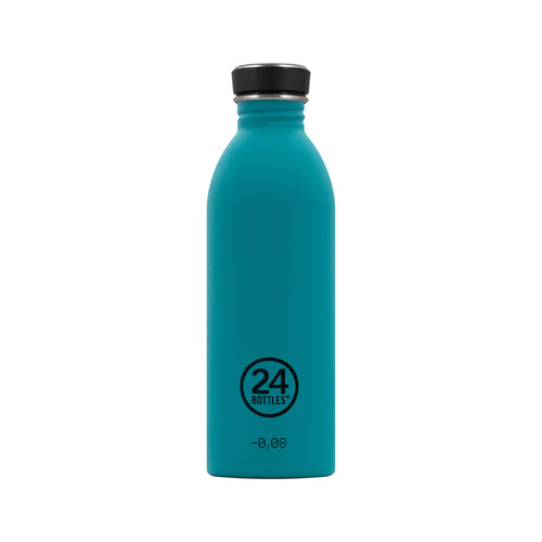 24bottles Super-lightweight Urban Water Bottle - 500ml - Atlantic Bay Green