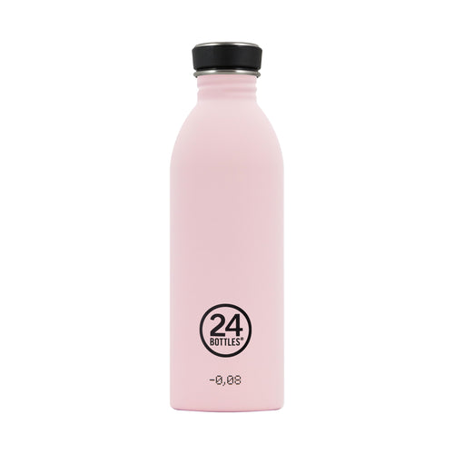 24bottles Super-lightweight Urban Water Bottle - 500ml - Candy Pink