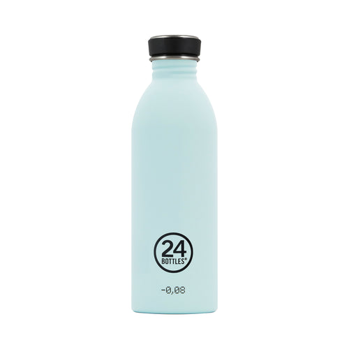 24bottles Super-lightweight Urban Water Bottle - 500ml - Cloud Blue