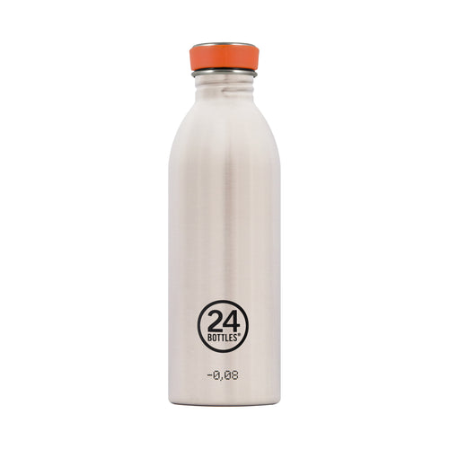 24bottles Super-lightweight Urban Water Bottle - 500ml - Steel