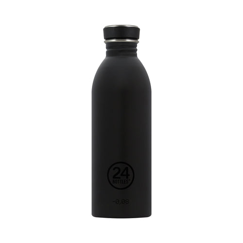 24bottles Super-lightweight Urban Water Bottle - 500ml - Tuxedo Black