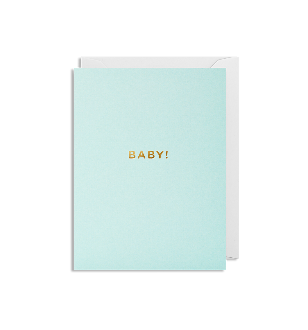 Kelly Hyatt (Cherished) - Baby Boy! Mini Card