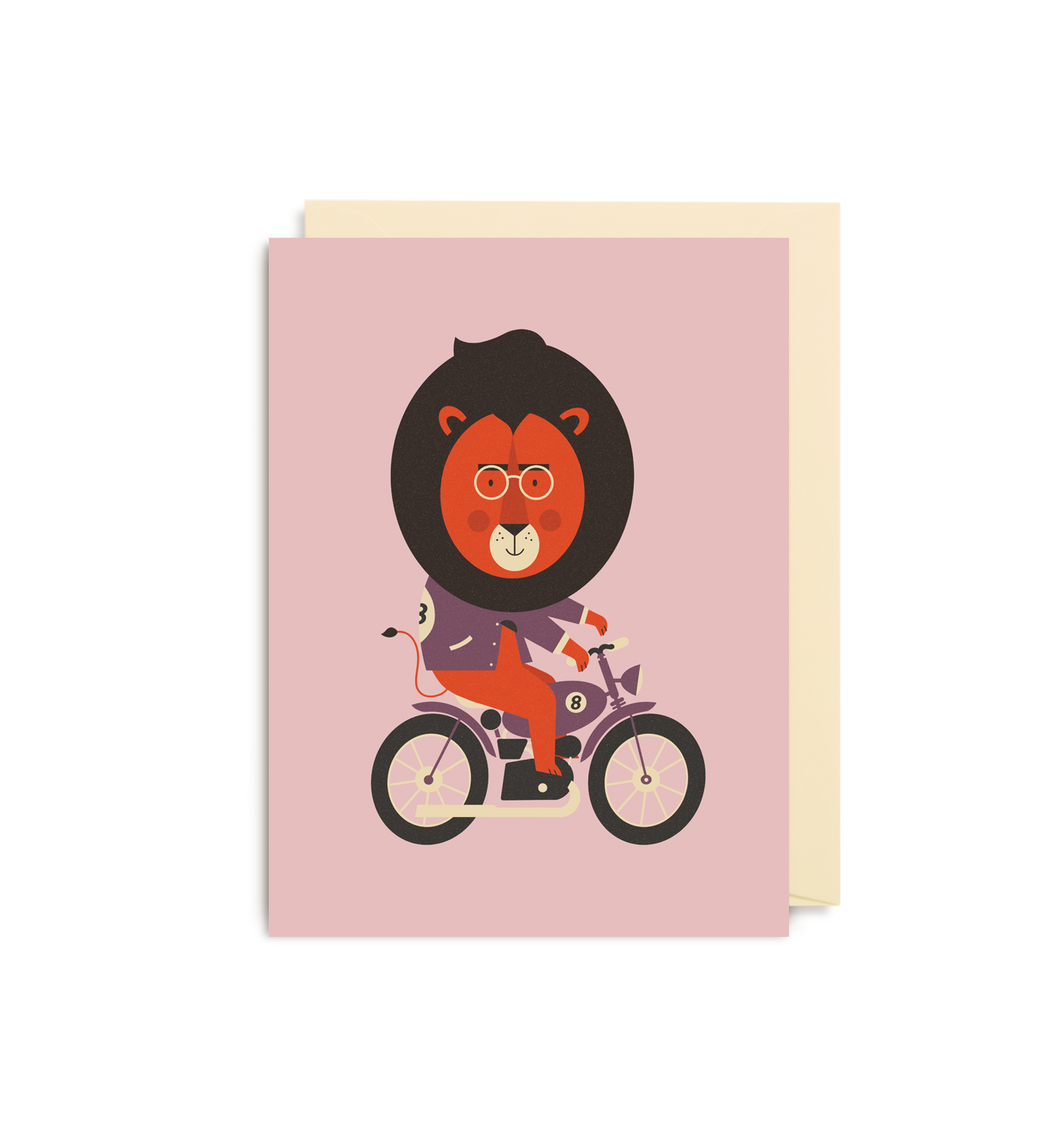 Dawid Ryski - Motorbike Lion Mini Card