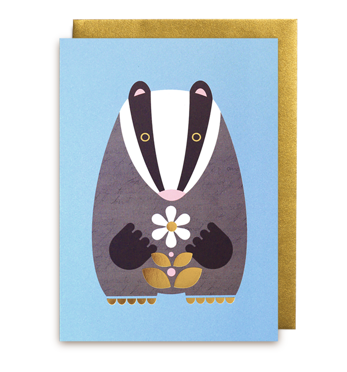 Kelly Hyatt (Petit Atelier) - Badger Card