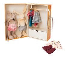 Moulin Roty - The little wardrobe suitcase