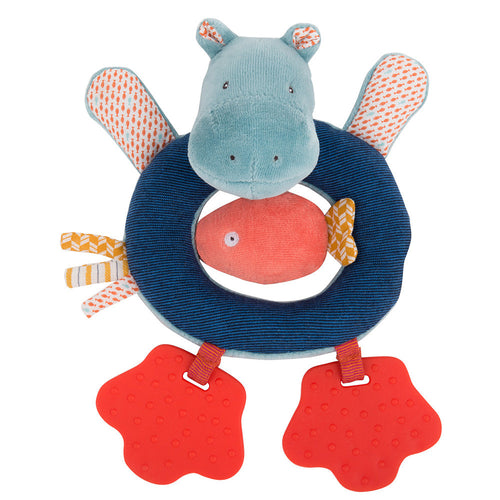 Moulin Roty - Hippo ring rattle