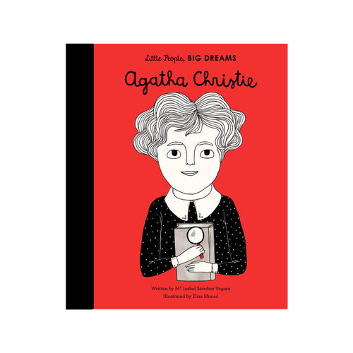 Agatha Christie Little People Big Dreams by Isabel Sanchez Vegara