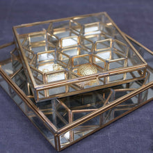 Bequai Honeycomb Box - Antique Brass combi