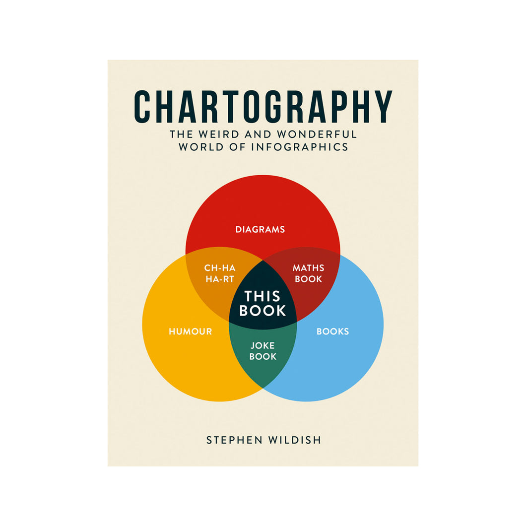 Chartography The weird and wonderful world of infographics by Stephen Wildish book